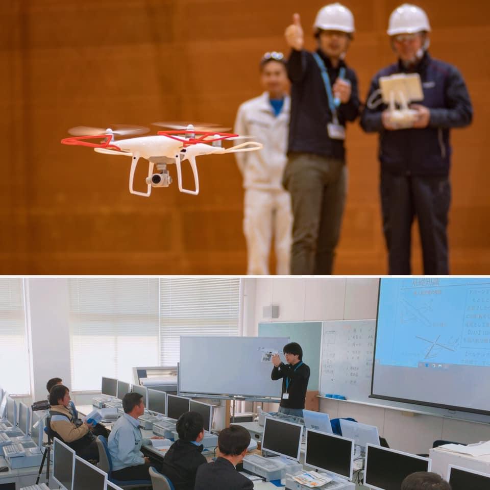 スーパープロフェッショナルハイスクール熊本工業高校ドローン授業の様子2